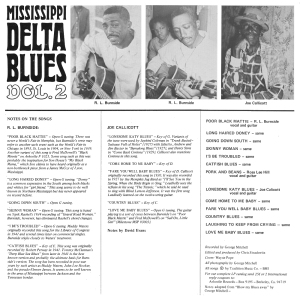 R.L. Burnside Delta Blues 1969