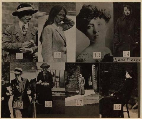 Suffragettes Scotland Yard